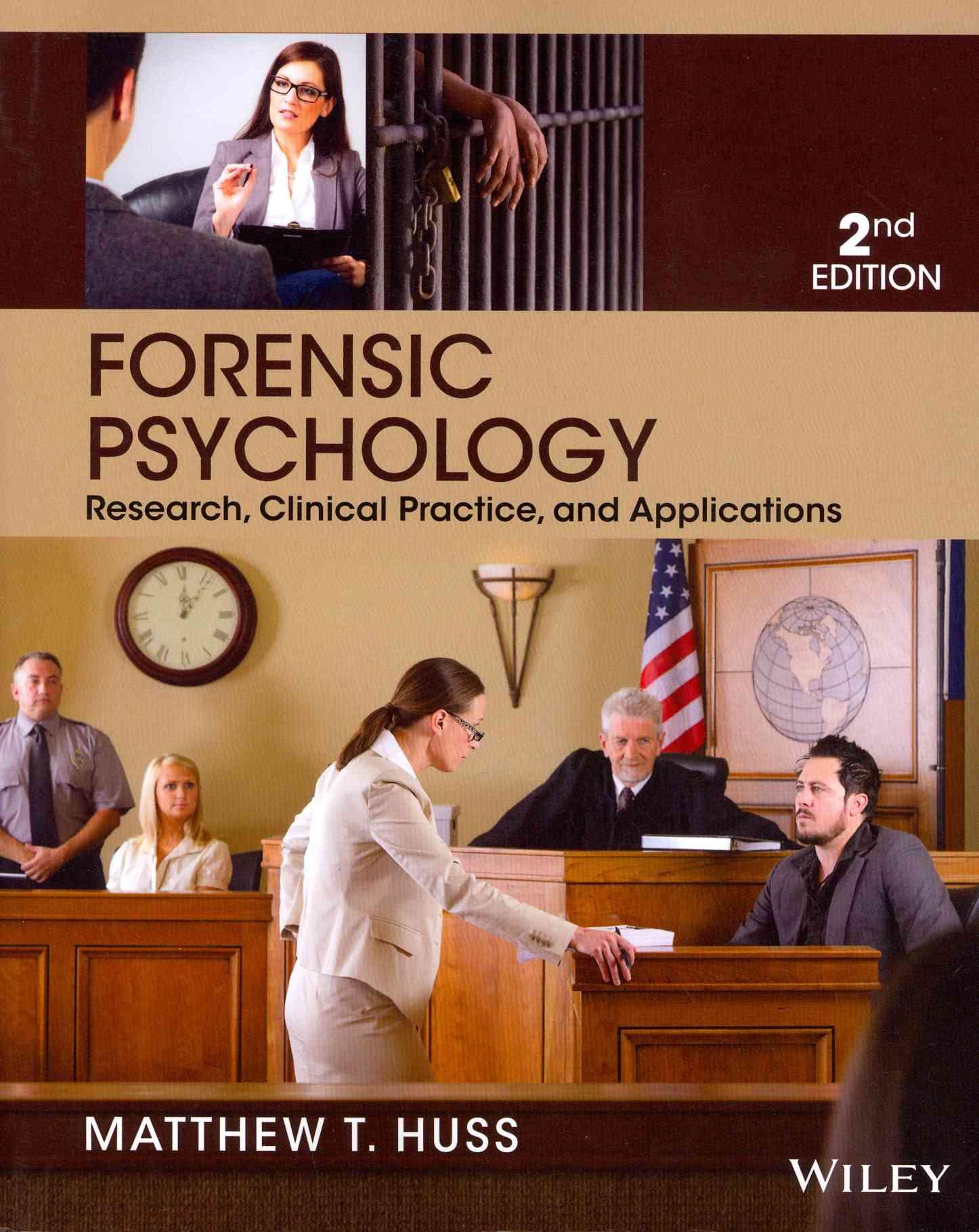 Forensic Psychology By Huss, Matthew T.